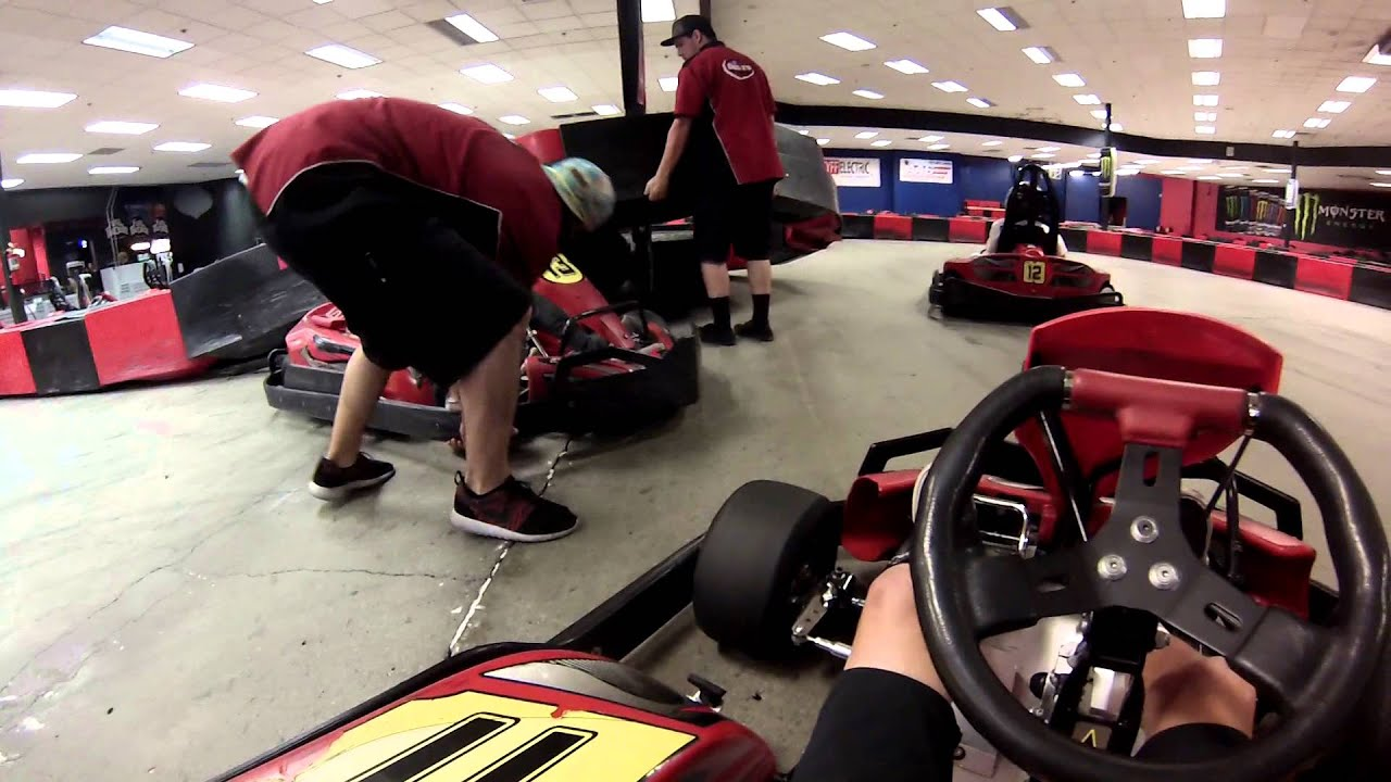 Go Karting at Driven Raceway