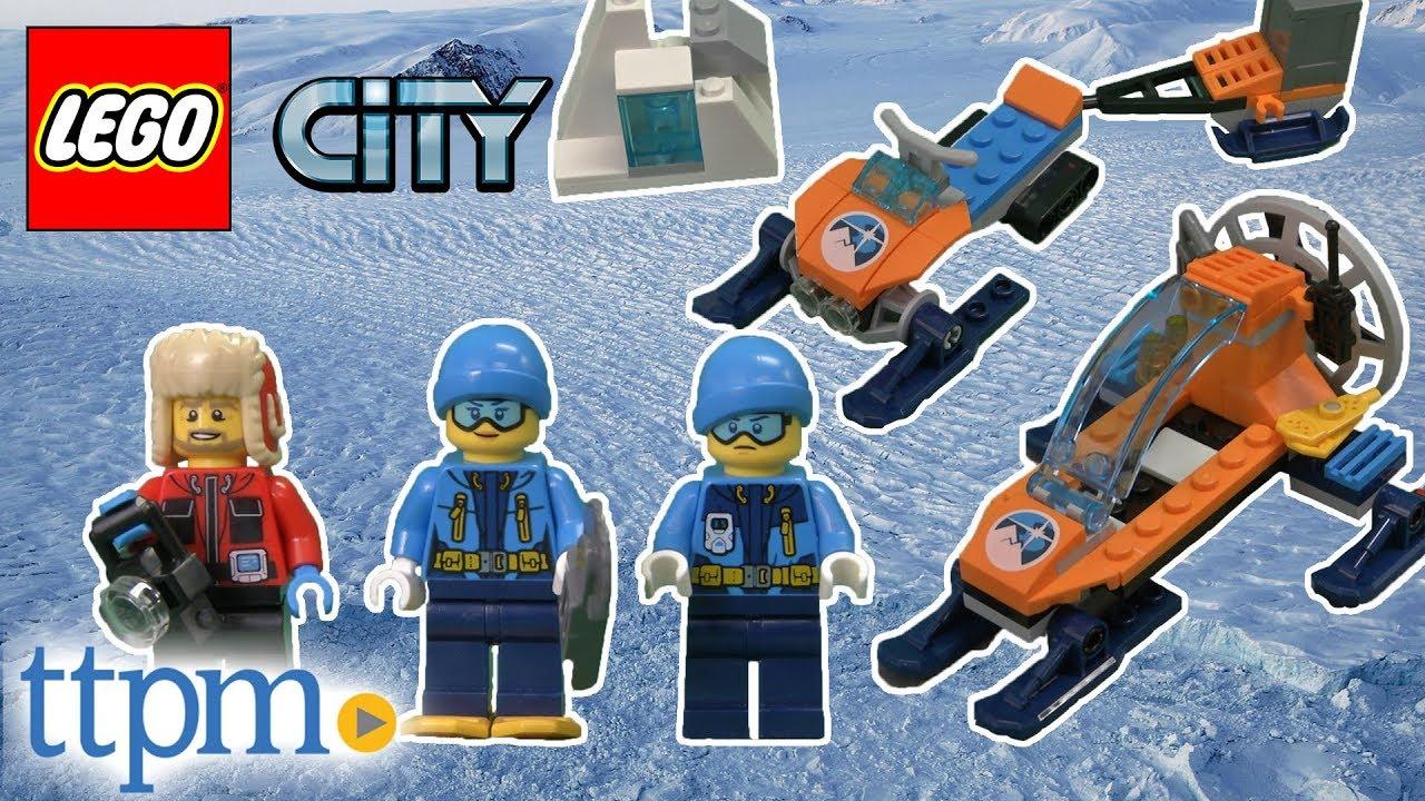 LEGO City Arctic Ice Crawler, Ice Glider, and Exploration ...