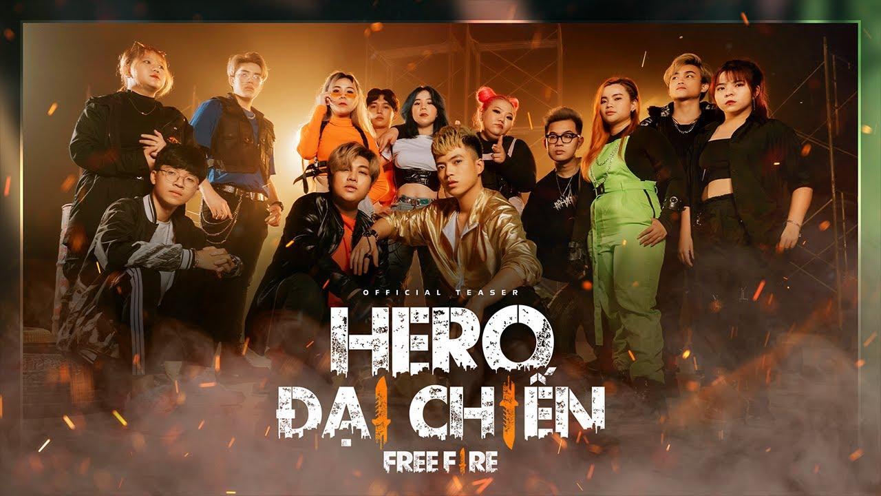 [TEASER] HERO ĐẠI CHIẾN FREE FIRE | Hero Team x QT Beatz