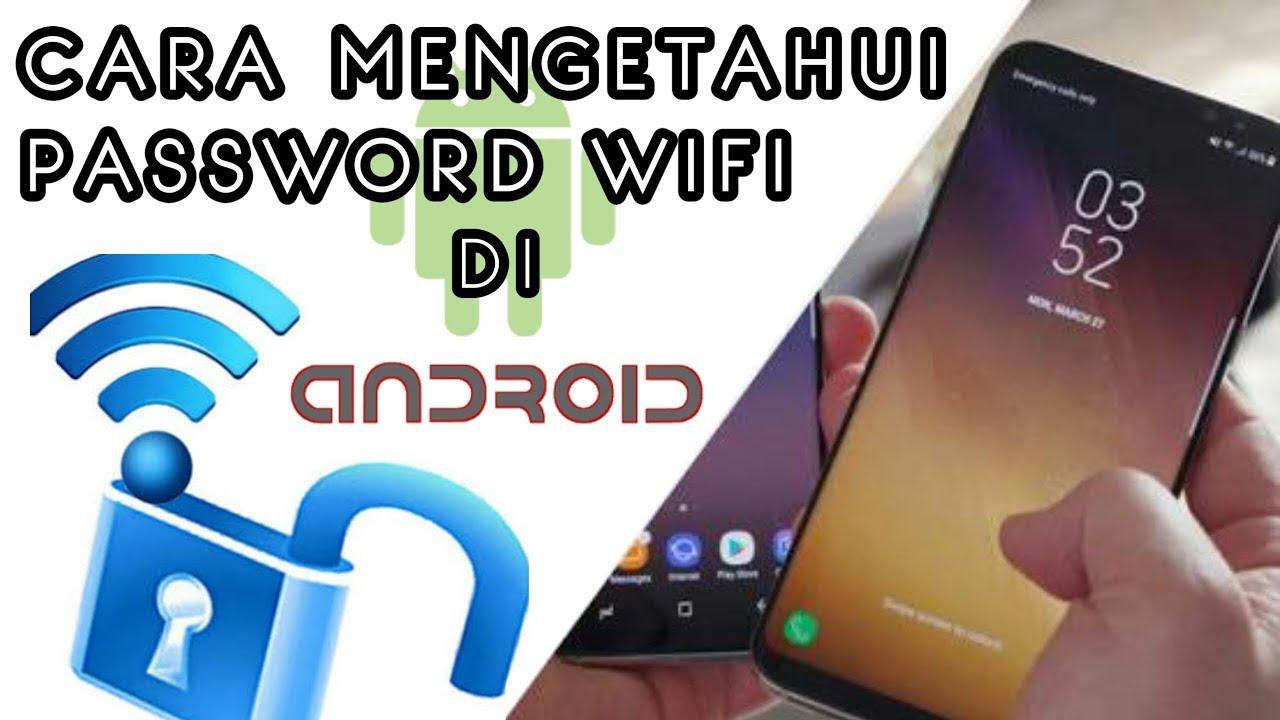 C4r4 Memb0b0l Wifi Trik Mengetahui P4ssw0rd Wifi Di Android Youtube