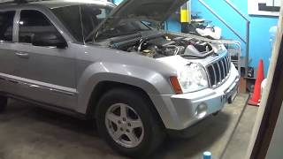 Jeep Grand Cherokee 2005 falla al encender y en ralenti. DTC P0068