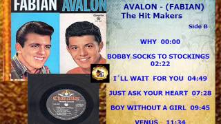 FRANKIE AVALON   Side B    WHY    Format Vinyl LP  FULL 6   OR