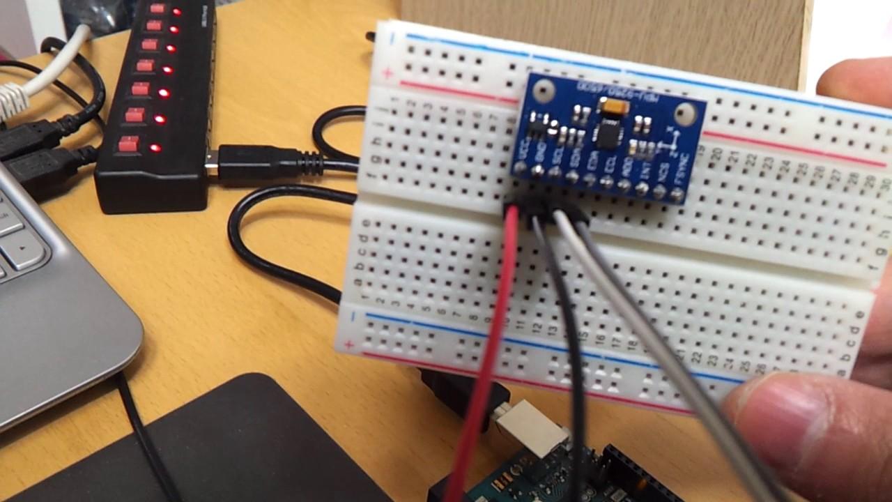 Arduino Uno 로 MPU-9250 IMU 센서를 사용해 출력값 확인해 보기