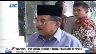 Jusuf Kalla Bantah Berhentikan Jenderal Sutarman