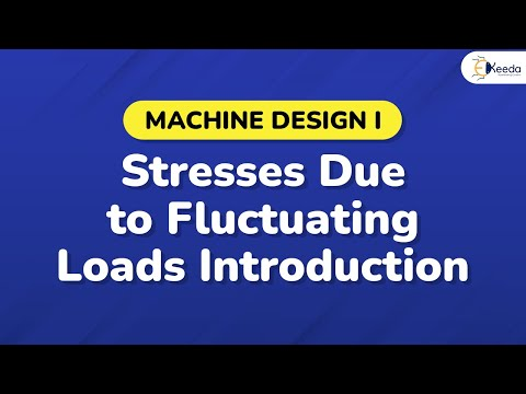 Stresses Due to Fluctuating Loads Introduction - Design Agai