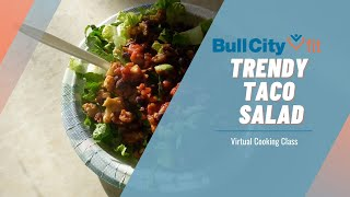 TRENDY TACO SALAD | a family meal by Bull City Fit