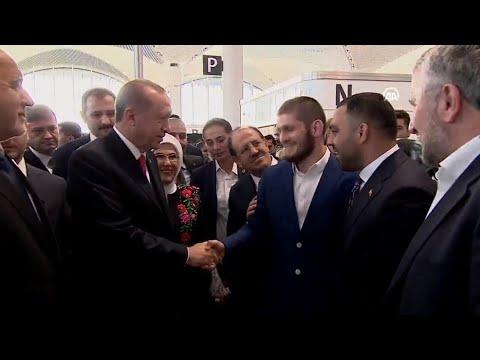 SON DAKİKA! Khabib Nurmagomedov ve Cumhurbaşkanı Recep Tayyip Erdoğan Buluştu!