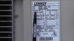 Locate Your Air Conditioner Model and Serial Numbers
