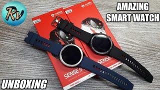 Molife Sense 510 Smart watch Unboxing - Rv