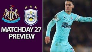 Newcastle v. Huddersfield | PREMIER LEAGUE MATCH PREVIEW | 02/23/2019 | NBC Sports