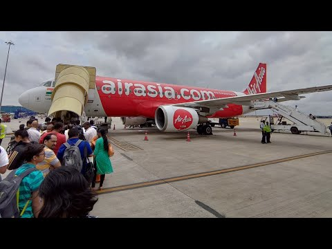 Bangalore to Pune by AirAsia I5 1426 Flight Travel Review