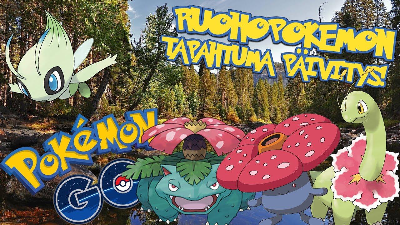 Pokemon GO Suomi - RUOHOPOKEMON EVENTTI PÄIVITYS! - YouTube