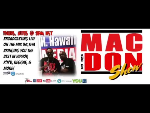 Hawaii's Hardcore Hiphop Radio Show! The Mac and Da Don Show Thurs. 9pm-12am HST