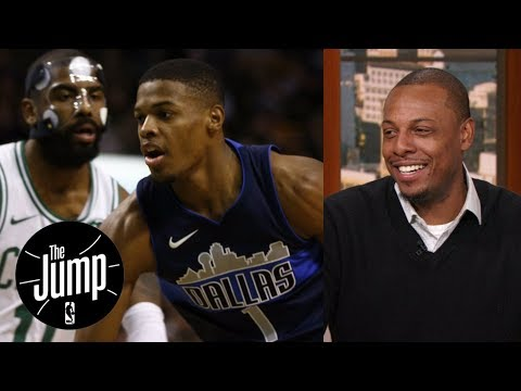 Paul Pierce has a message for Dennis Smith Jr. when it comes to Kyrie Irving | The Jump | ESPN