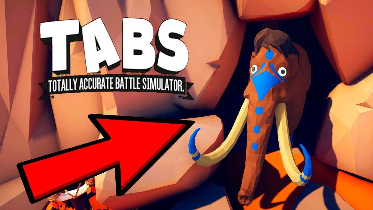 Нашел МАМОНТА и ПОБЕДИЛ! Новые БЕЗУМНЫЕ СРАЖЕНИЯ в Игре Totally Accurate Battle Simulator TABS/ТАБС