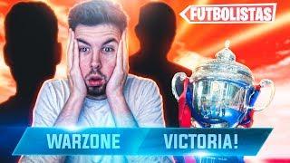 JUEGO con 2 Futbolistas a WARZONE y son BUENISIMOS!!