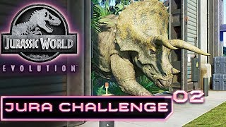 Jurassic World Evolution Deutsch Challenge Jura Extrem Schwer! Deutsch German #2