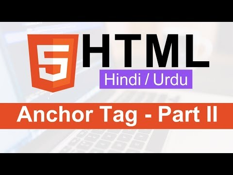 HTML  Anchor Tag Tutorial(mailto Link & Internal Page) In Hindi / Urdu