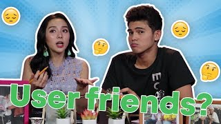 INIGO PASCUAL, SUNNY KIM On Dealing With User Friends | Feels Chair