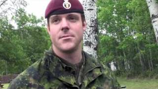 Canadian, German and French paratroopers jump together in Cold Lake