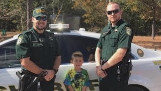 Little Boy Calls 911 to Invite Sheriff