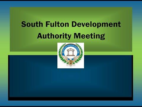 Development Authority Regular Meeting, Monday, February 22, 2021@ 6:00 PM
