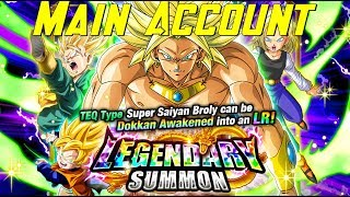 LR TEQ Broly Banner Summons (Main Account) | Dragon Ball Z Dokkan Battle Global