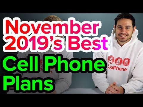 Best Cell Phone Plans [November 2019]