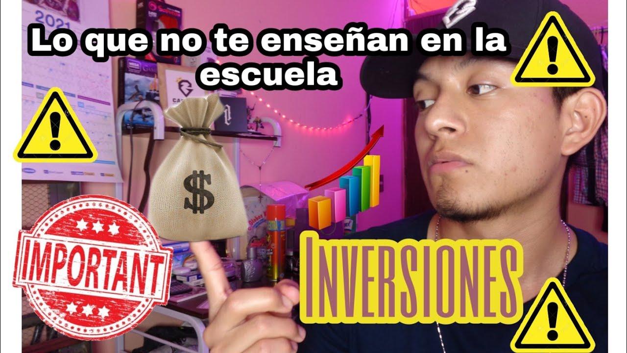 ⚠️ INVERSIONES ⚠️| LO QUE NO TE DICEN EN LA ESCUELA | 🚨 INFORMACIÓN MUY IMPORTANTE 🚨| Carvilz Jr