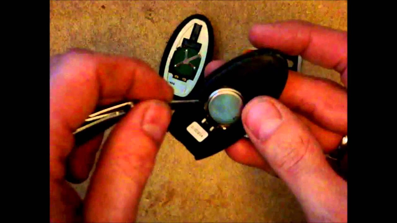 Nissan Keyless Entry Battery Replacement Youtube