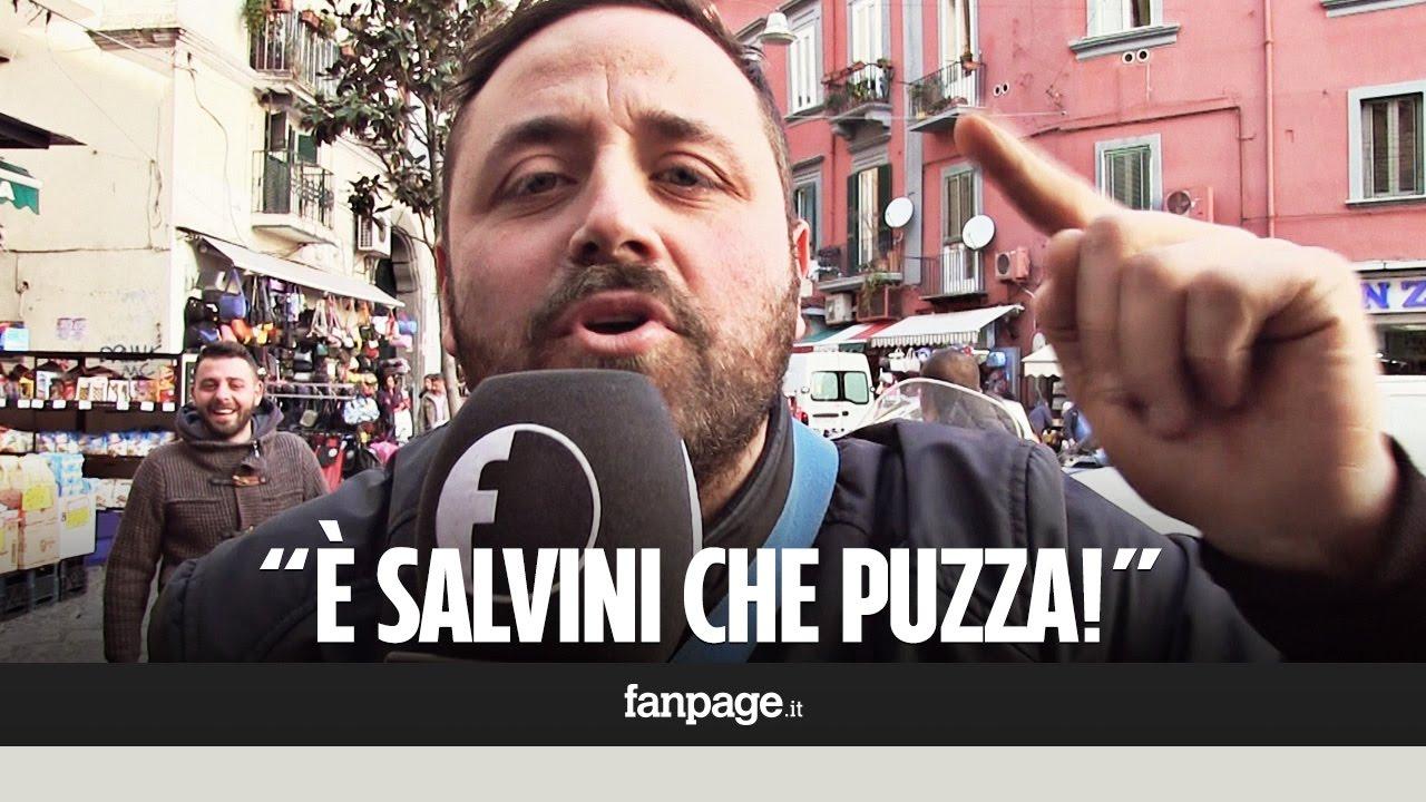 La reazione dei Napoletani a Salvini