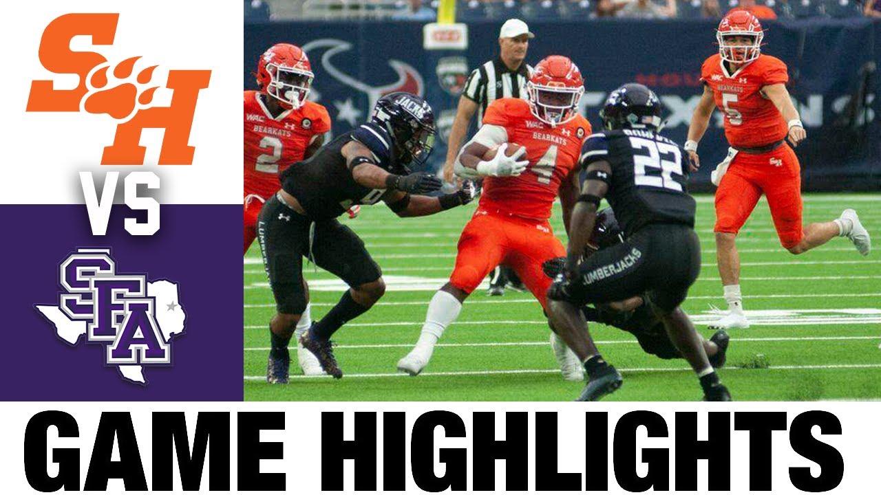 #1 Sam Houston vs #18 Stephen F. Austin   FCS Week 5   2021 College Football