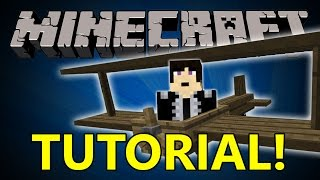 Repeat youtube video Minecraft Tutorial: Building a Biplane with Flan's Plane Mod