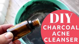 HOW-TO | Best DIY Charcoal Acne Face & Body Wash (Biore Charcoal Cleanser Dupe)