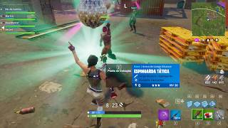 Fortnite Dançando e Matando