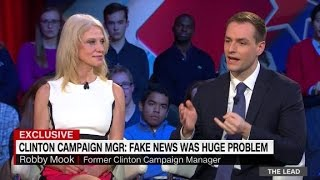 Trump and Clinton aides discuss fake news