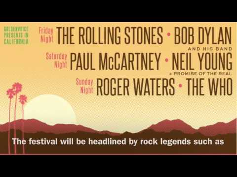 Desert Trip Set To Be Biggest Festival Ever