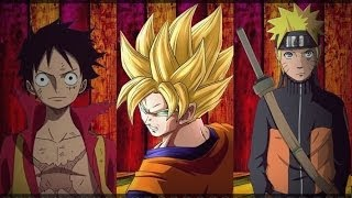 ANIME MIX - One Piece , DBZ , Naruto (AMV) - HD