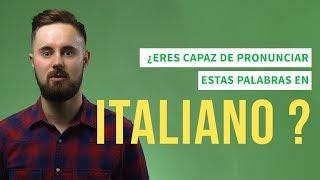¿Eres capaz de pronunciar estas 7 palabras en italiano?   Las voces de Babbel