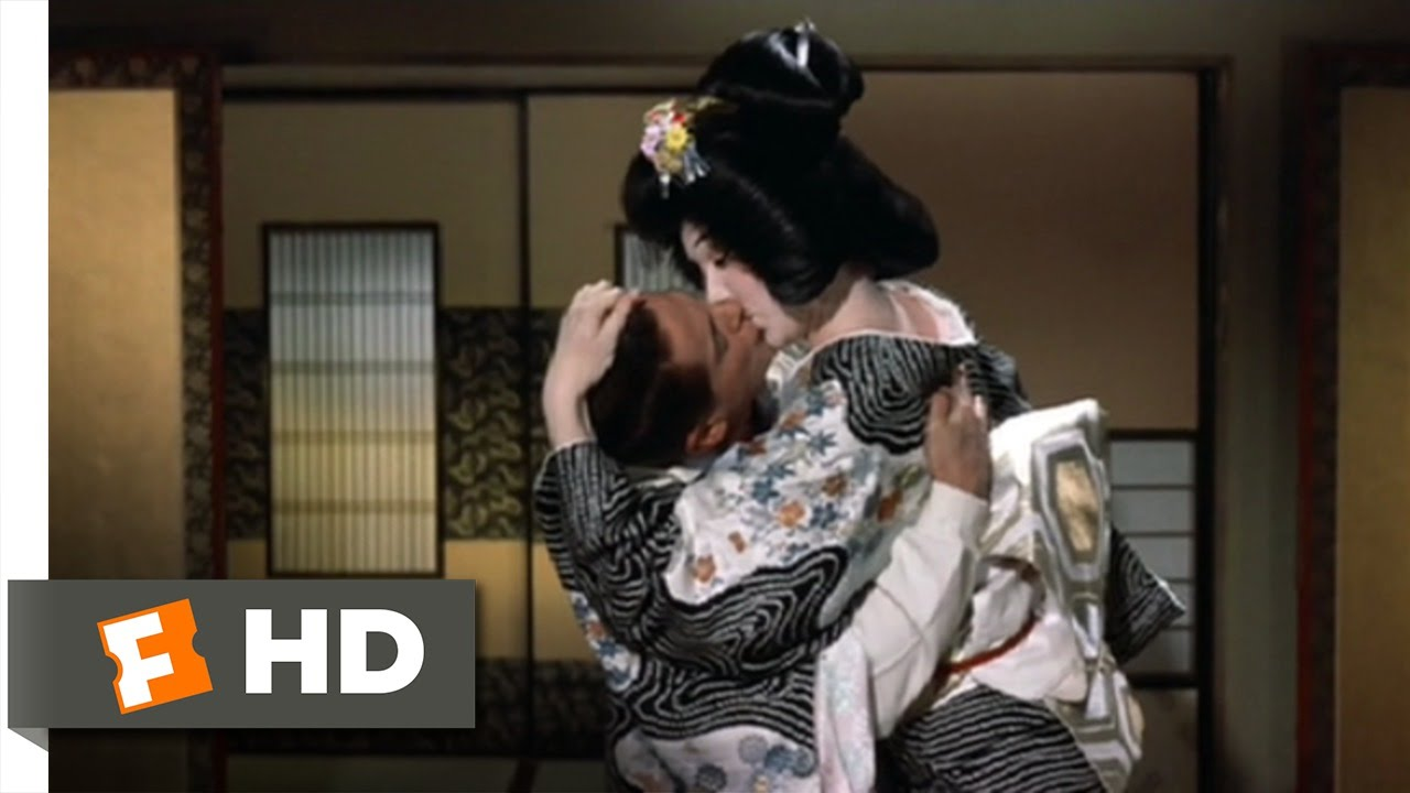 My Geisha 28 Movie Clip - Kissing Is Most Interesting -3414
