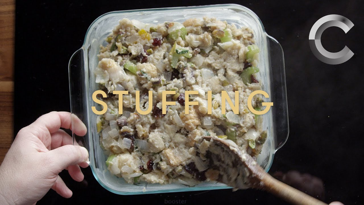 How to Make Stuffing with that Good Good | Baked | Cut