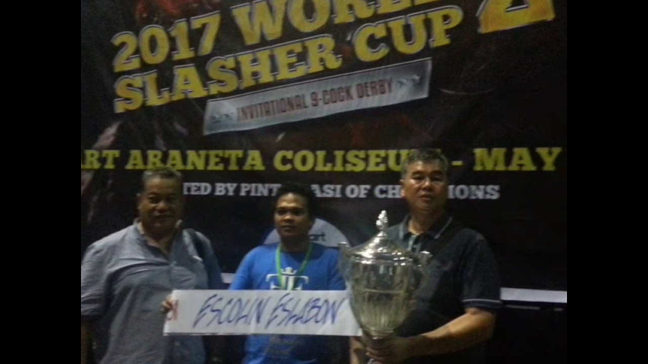DANTE ESLABON - CHAMPION 2017 WORLD SLASHER CUP 2