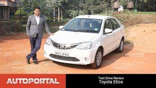 Toyota Etios Test Drive Review - Autoportal