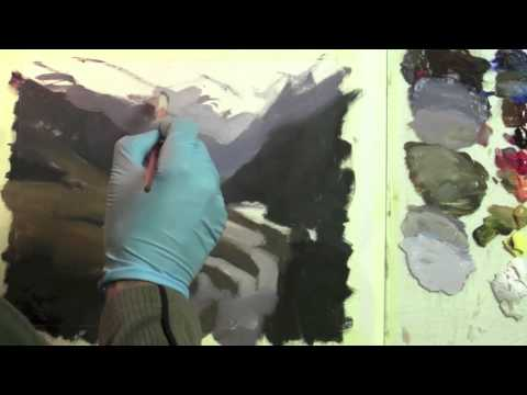 Preview   Painting Landscapes in Oil, Part 3: Glowing Light with Richard Robinson