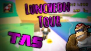 [MKWii TAS] Luncheon Tour Lap 1  (no-glitch) - 34.495