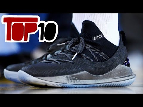 Top 10 NBA Signature Basketball Shoes of 2018
