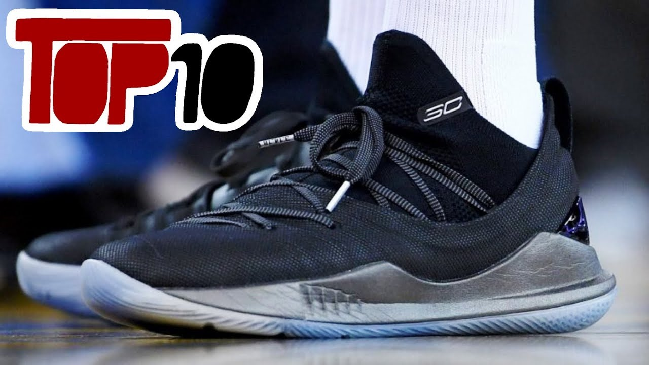 d086bf3fae6 Top 10 NBA Signature Basketball Shoes of 2018 - YouTube