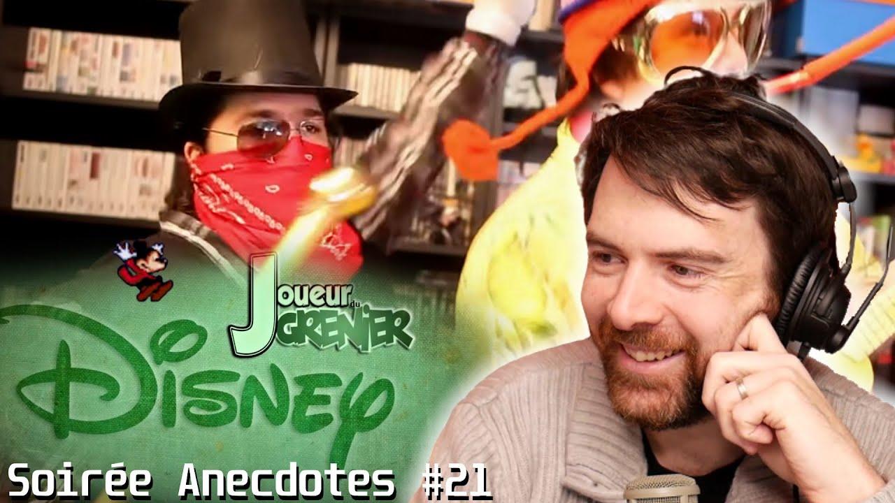 Soirée anecdotes - Best-of #21 (Les jeux Disney)