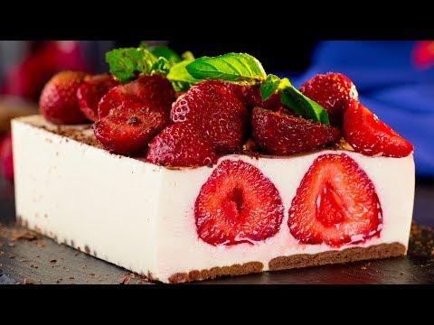 Торта от ягоди без печене - лек и здравословен десерт за вашите деца! Apetiten TV