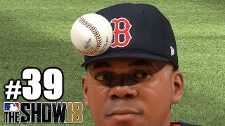 FINALLY HIT A PITCHER IN THE HEAD!   MLB The Show 18   Road to the Show #39